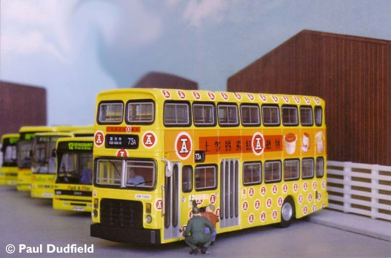 Padbus 312 Leyland Victory/Alexander before conversion to  open top