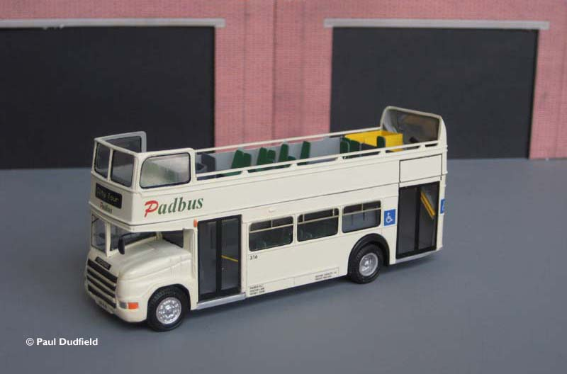 Padbus 316 Open top Lodekka