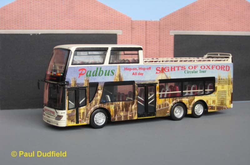 Padbus 319 Ankai open top